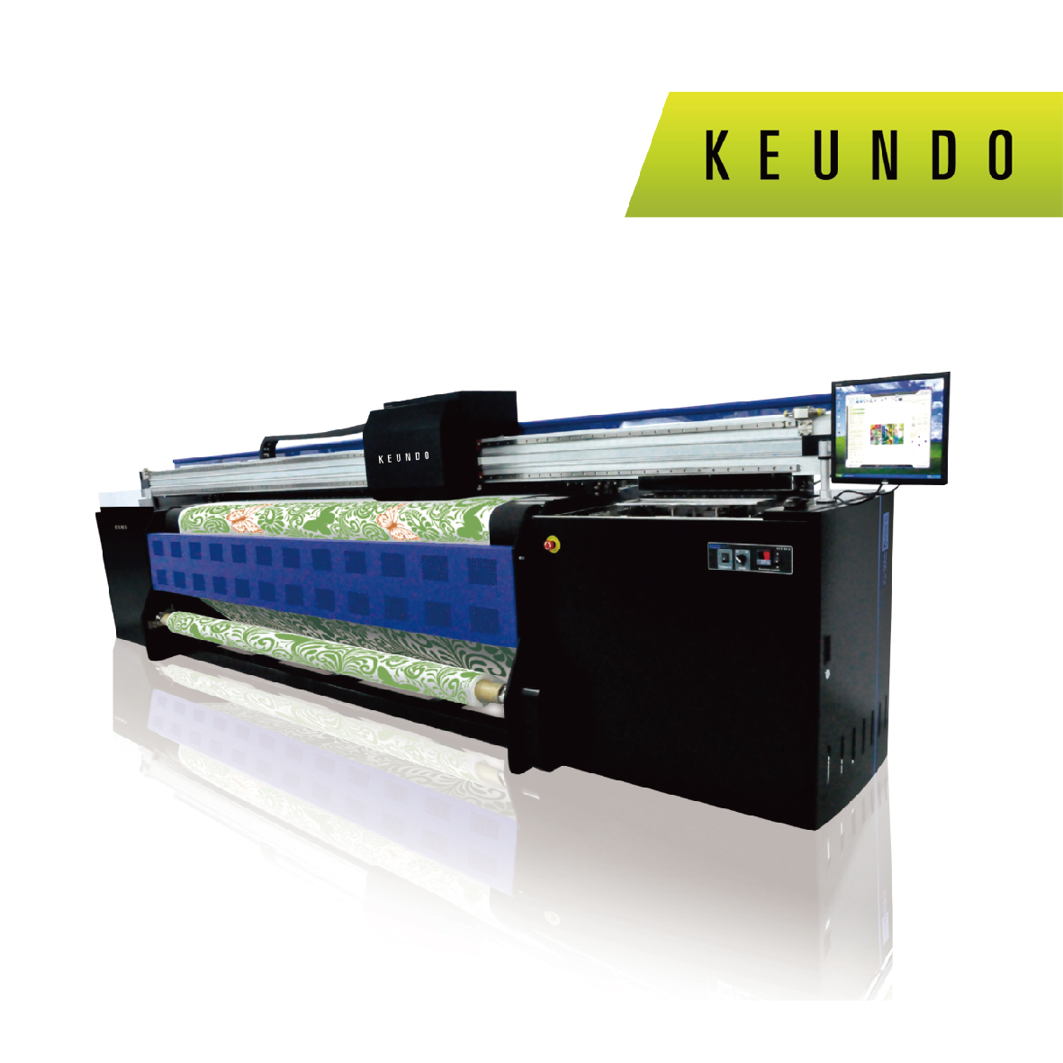 SUPRAQ 3200 -TX6 3.2m Grand Format Dye Sublimation System With Six SG-1024 Print Heads