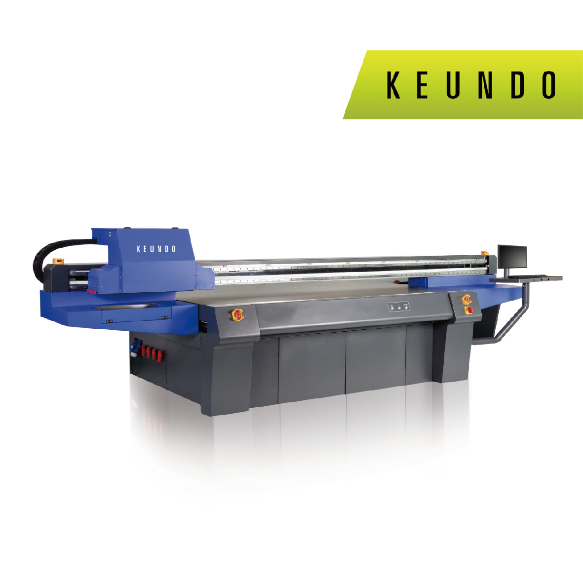 M2513 UV 2500mm*1300mm LED UV Flatbed Printer With Ricoh GEN5 Print Heads